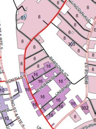 urban residential zoning map