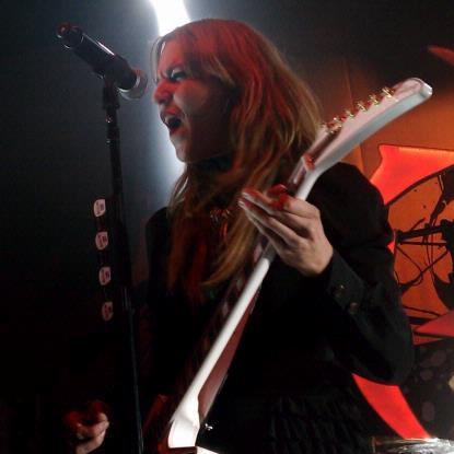 Halestorm live at Mass Chaos 2012 (Photo credit: Michael Cimaomo)