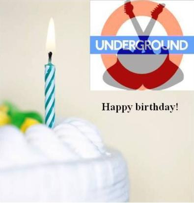Happy birthday Northeast Underground!
