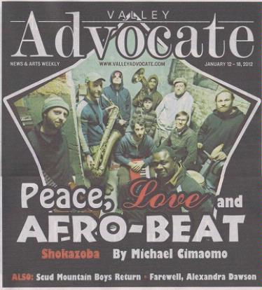 Peace, Love and Afro-beat - Shokazoba