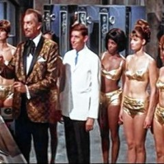 Vincent Price is Dr. Goldfoot and I'm in Hell