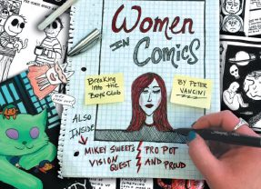 Women in Comics: Profiles of Pioneer Valley artists breaking into the boy's club